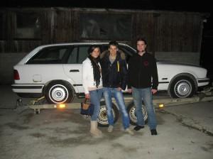 Rudolf, Brabus Tobi mit Freundin und Slash beim Kauf