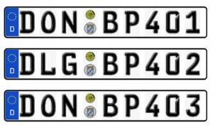 Nummernschilder