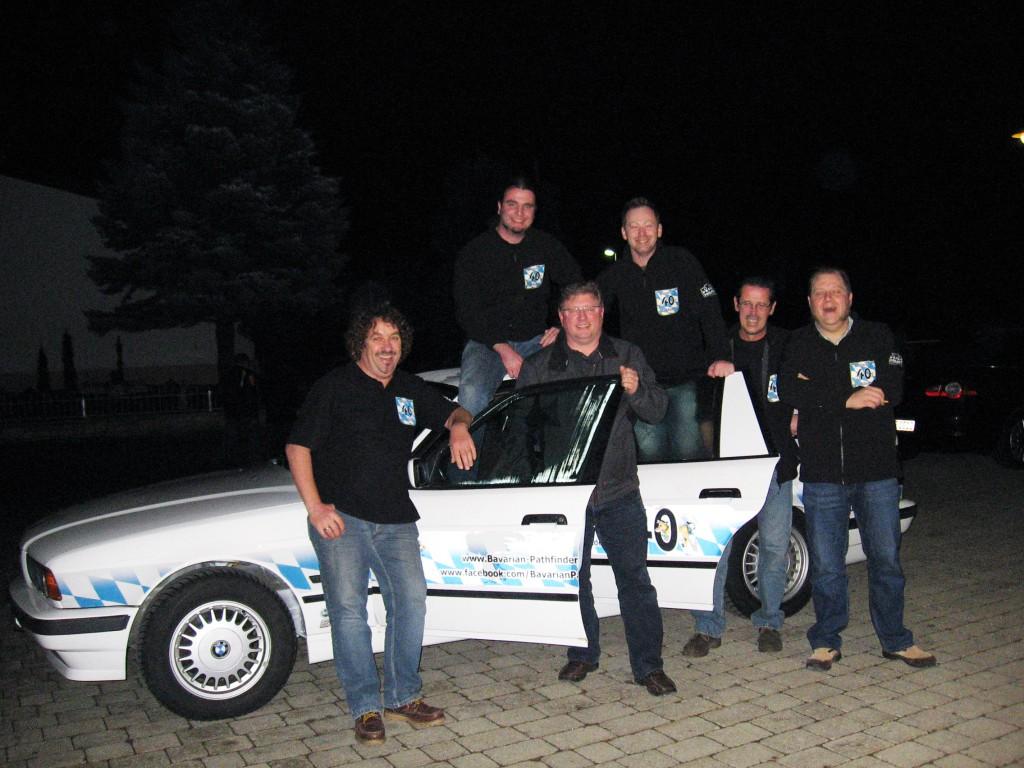 Teamfoto am Theater Löpsingen